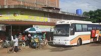 Bus in Cambodja