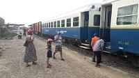 Trein in Cambodja